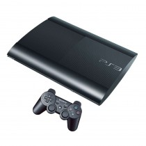 Sony PlayStation 3 CECH-4008a [Black, 12 Gb]